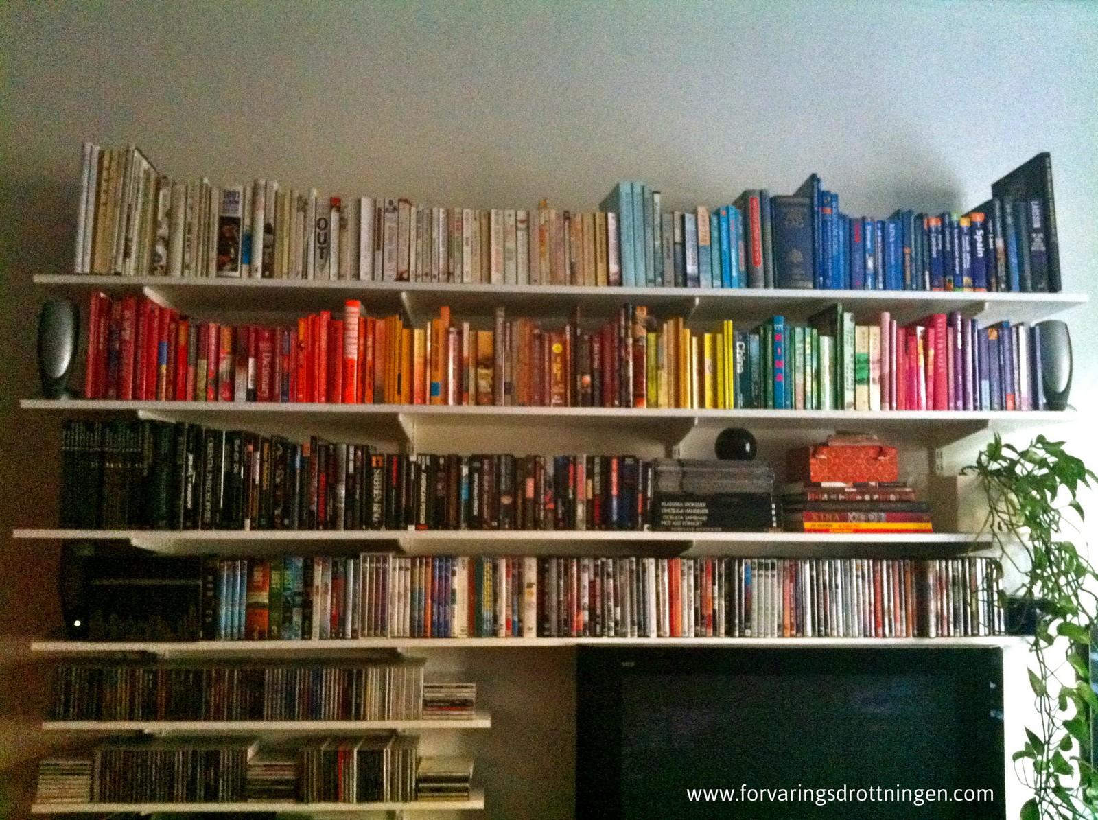Böcker efter färg hos Sanna