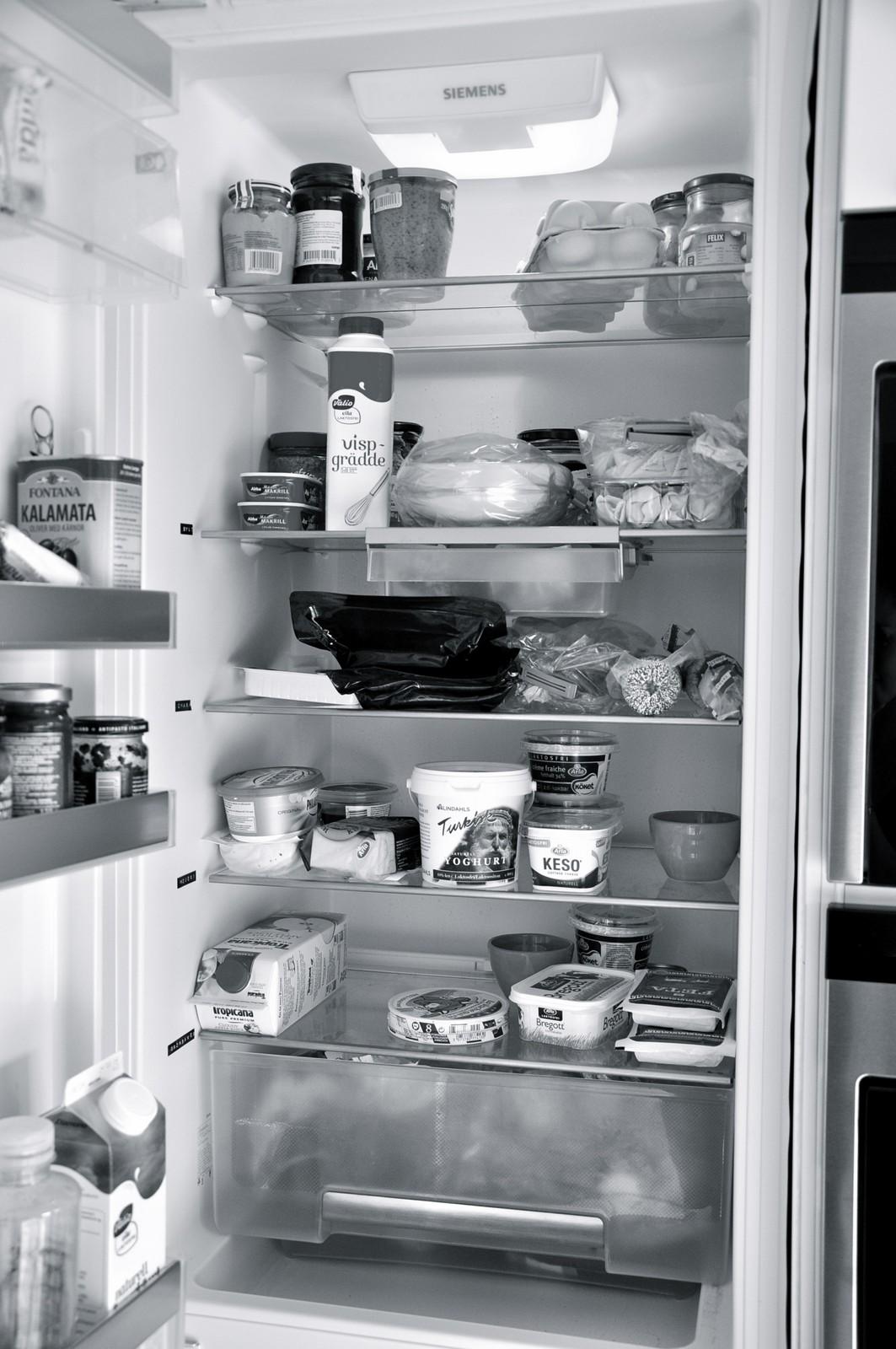 Kylskåpet - före
