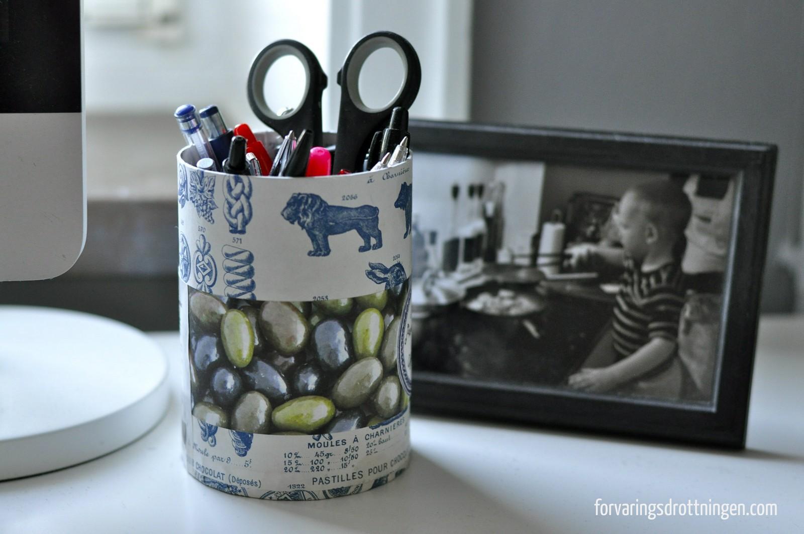 Behållare till pennor