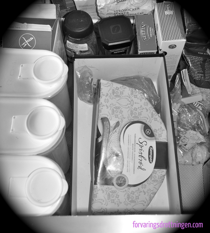 tillfällig förvaring i kökslådan