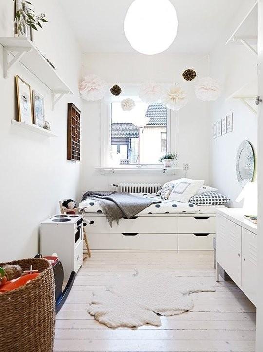 Optimera förvaringen under sängen IKEA lösningar Platsbyggd förvaring, Sovrum