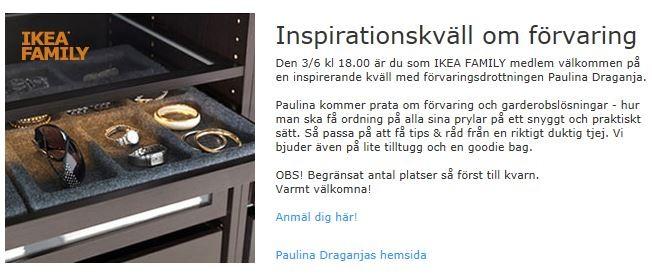Föreläsning IKEA Örebro