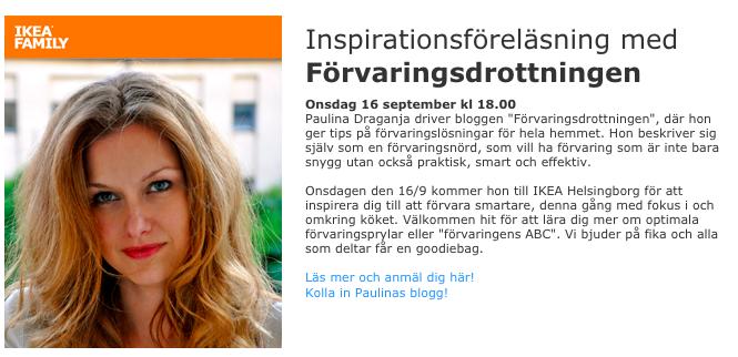 Föreläsning IKEA Helsingborg