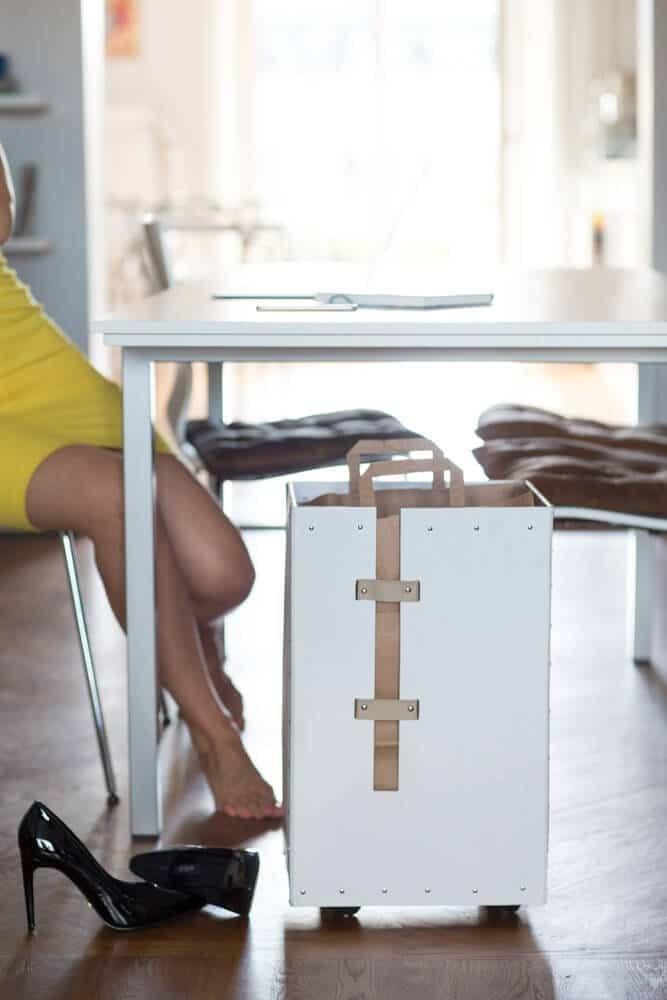 Pappersåtervinning %22Förvara smart - organisera ditt hem%22