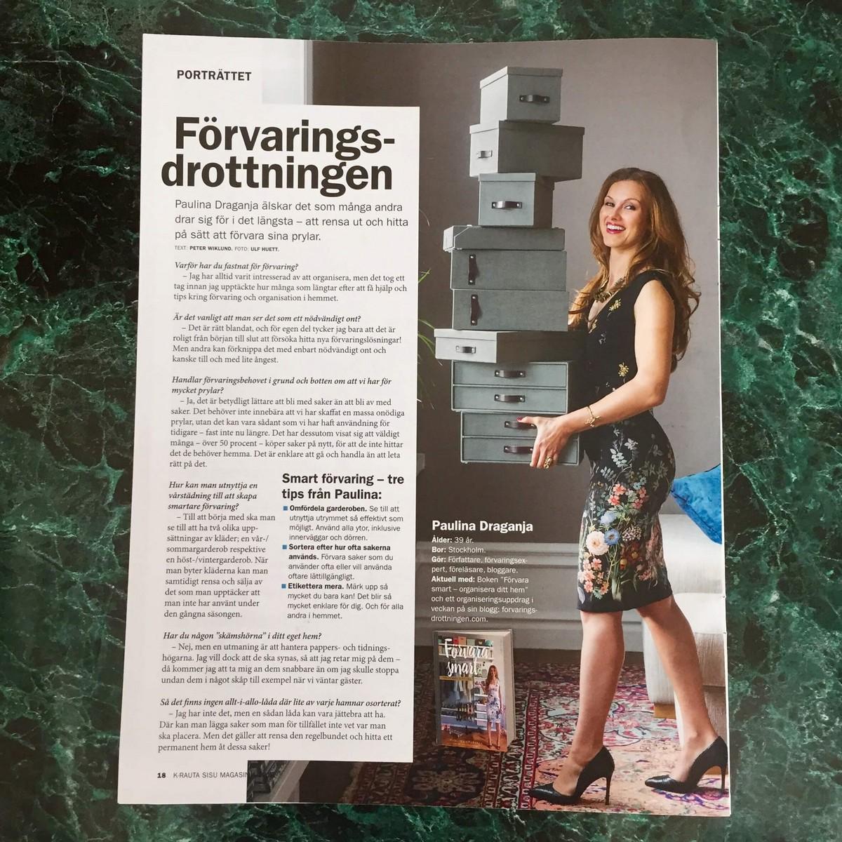 Förvaringsdrottningen Sisu magasinet