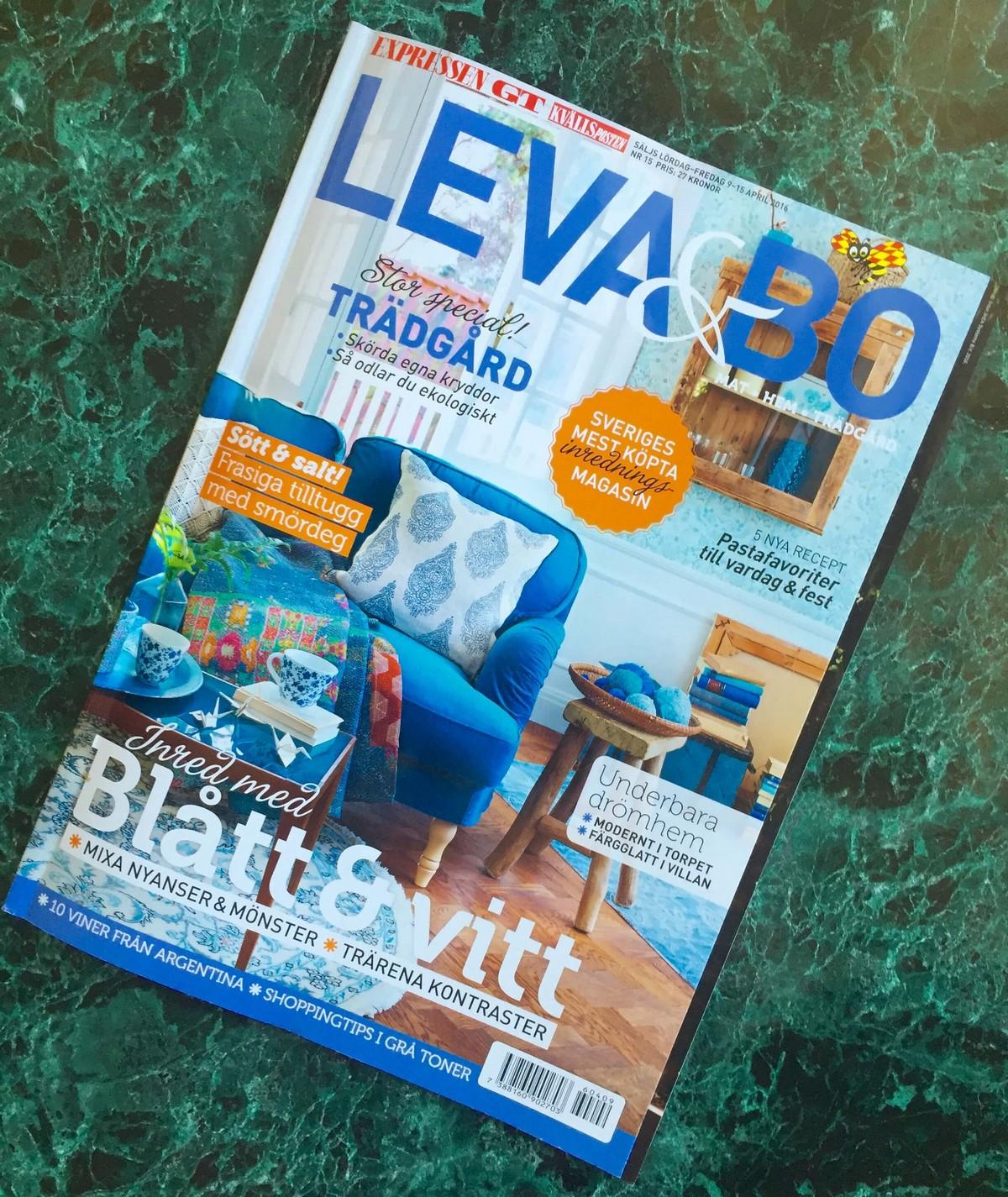 Omslag Expressen Leva & Bo
