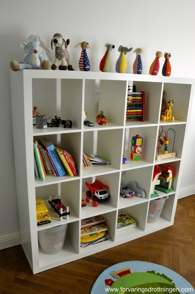 IKEA EXPEDIT - leksaksförvaring i barnrummet