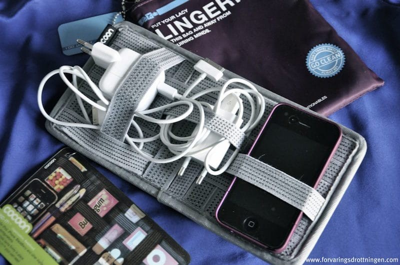 mobil och sladdhallare