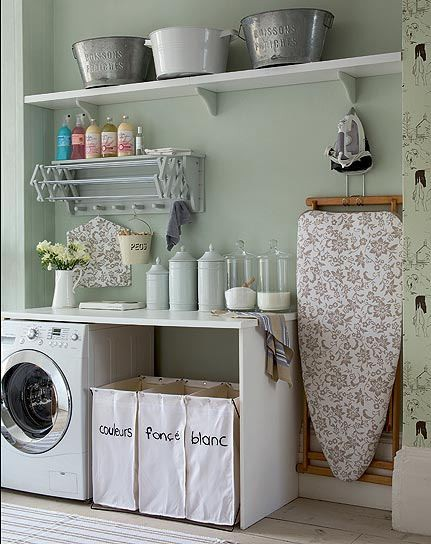 Lantlig tvättstuga