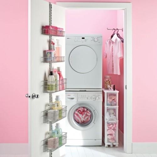 tvättstuga i klädkammaren