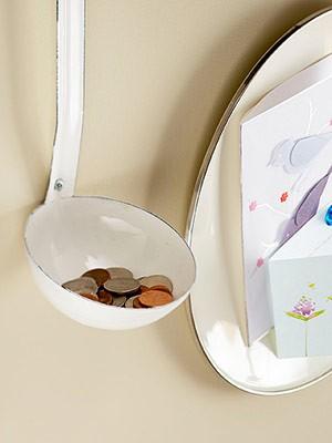utanför boxen - soppsked som myntförvaring