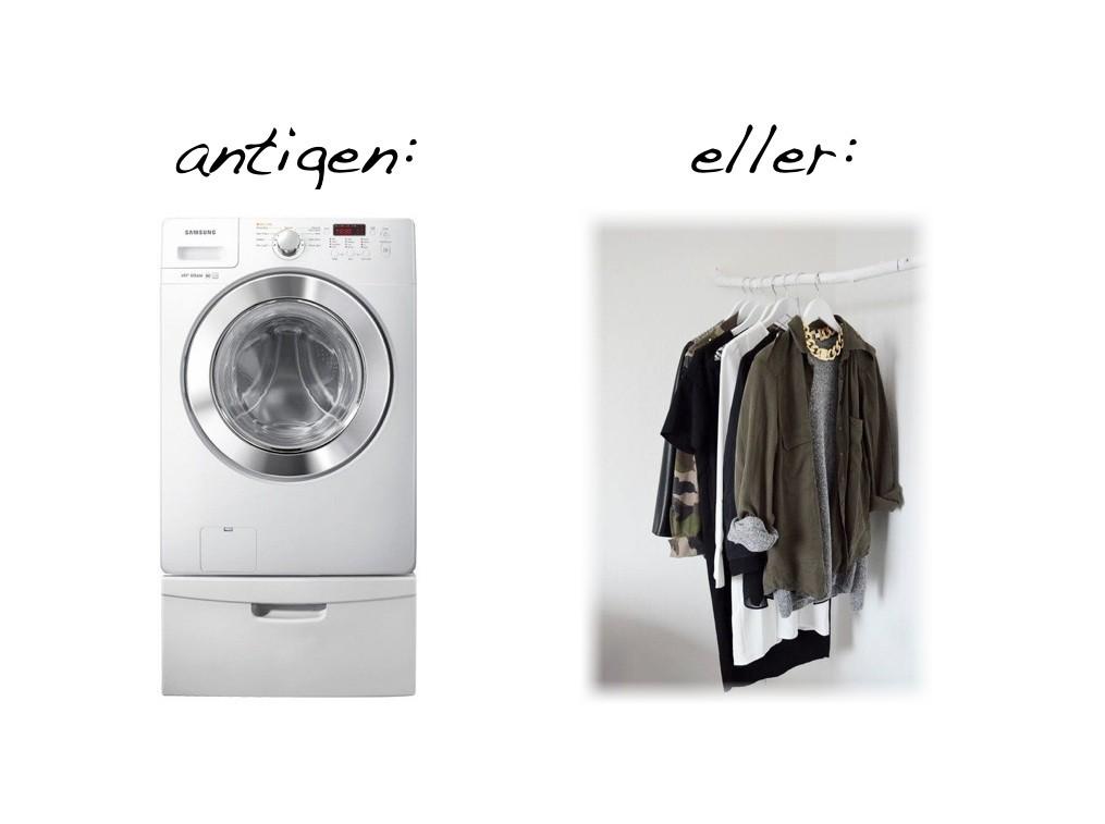 Halv använda kläder