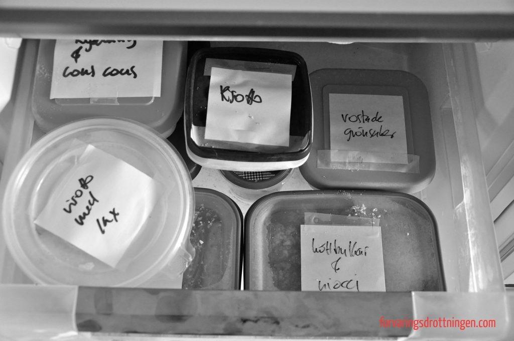 märkta matlådor