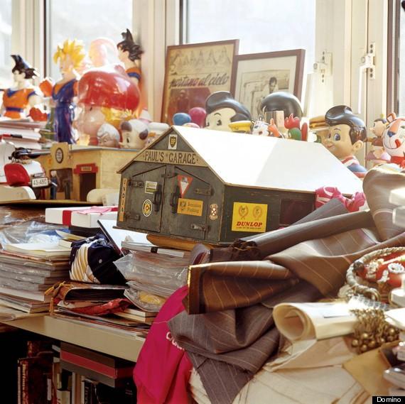 disorganiserad och stökig
