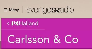 Sveriges Radio P4 Halland Carlsson & Co