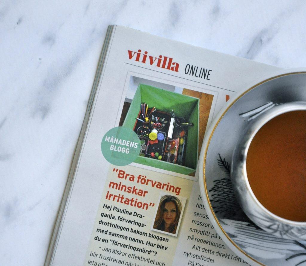 Förvaringsdrottningen månadens blogg i Vi i Villa