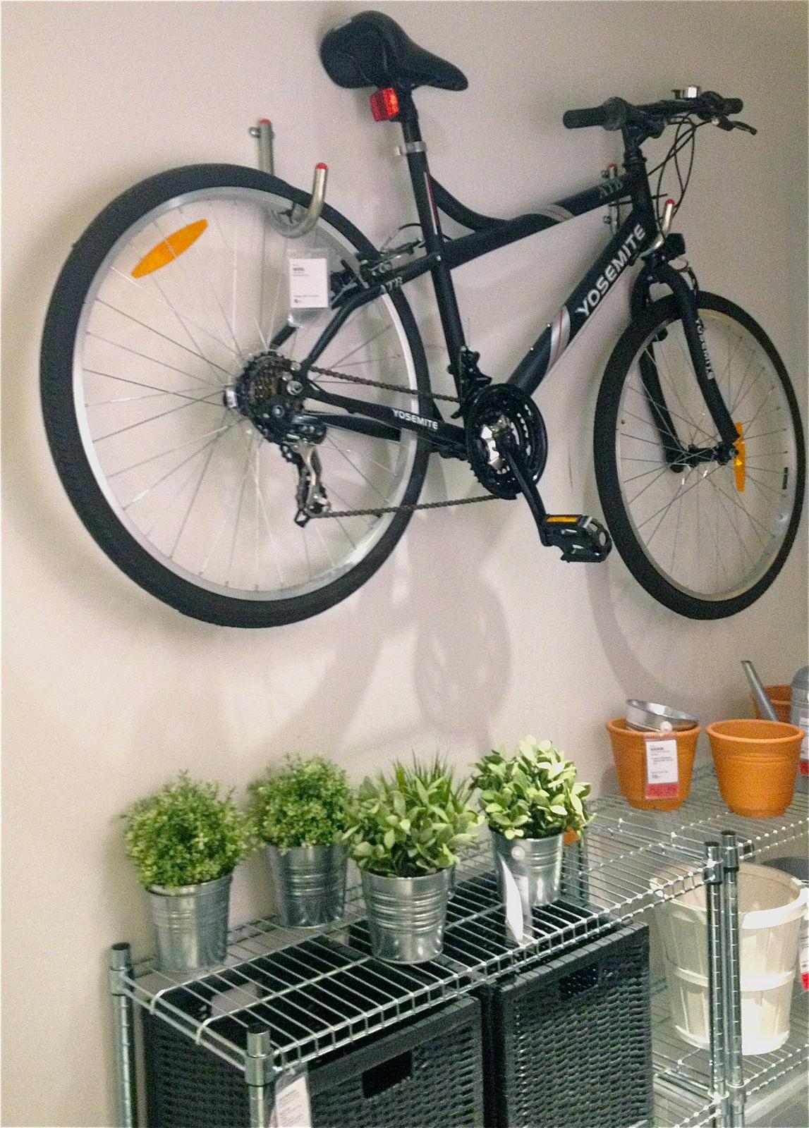häng upp cykeln