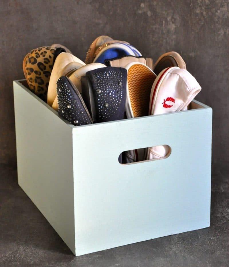 ordning bland skorna