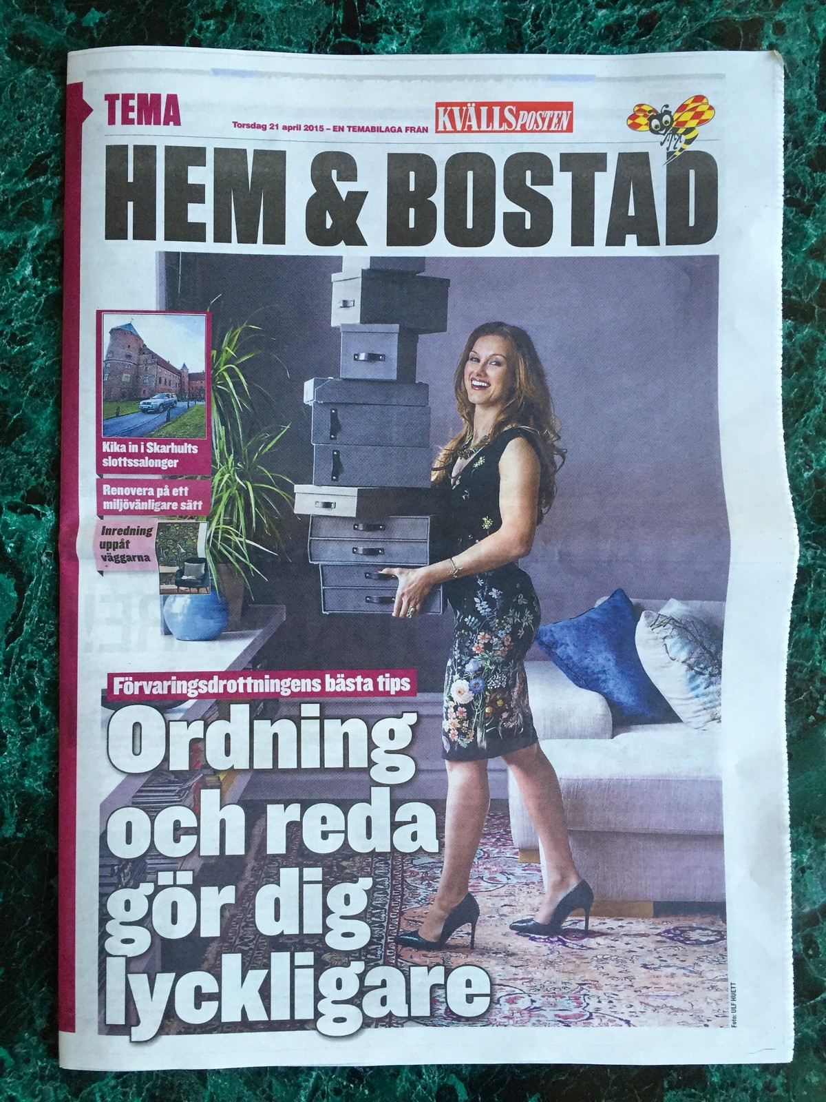 Förvaringsdrottningen Paulina Draganja Kvällsposten