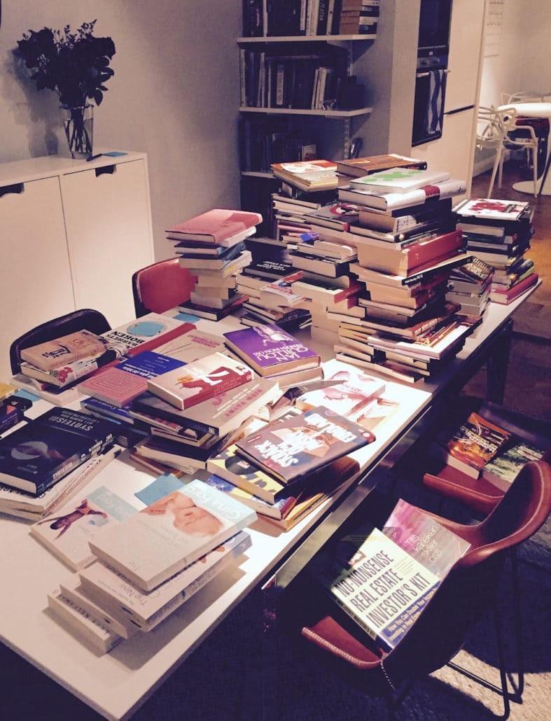 organisera böcker