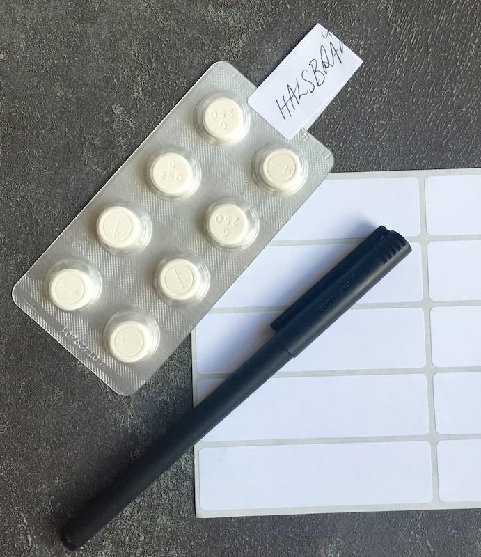 Så märker du upp dina läkemedel som saknar förpackning