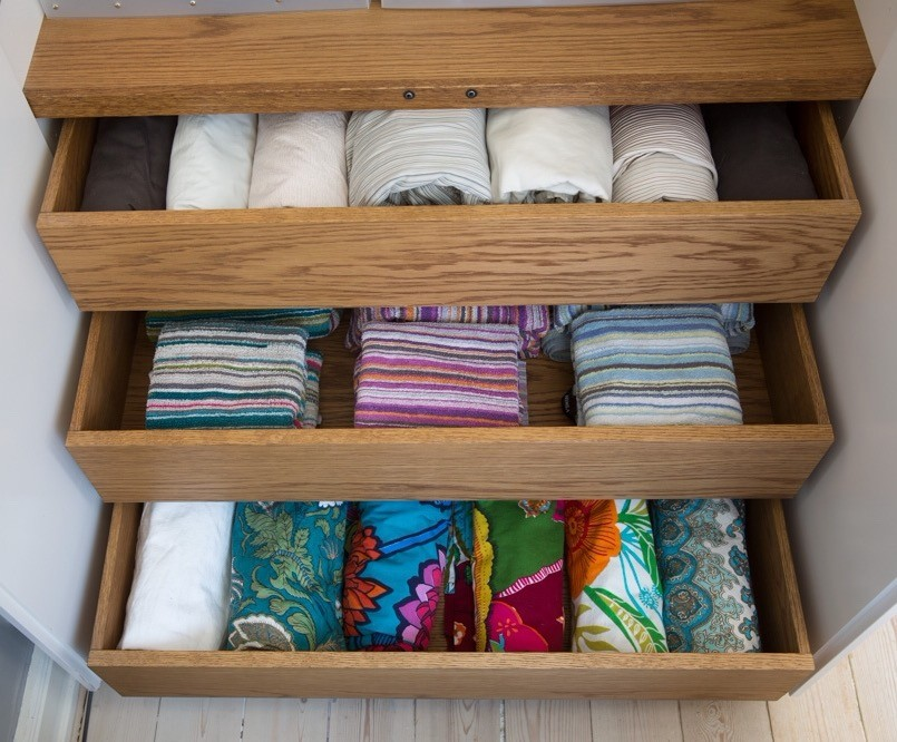 ordning bland lakan-handdukar-dukar