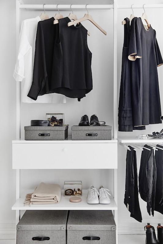 VORE garderob vit